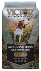 Victor Select Senior Healthy Weight Dry Dog Food 40lb