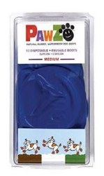 Pawz Dog Boots 12pk Med