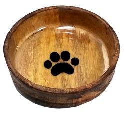 Advance Large Wooden Paw Bowl