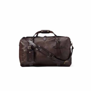 Weatherproof Leather Duffle Bag Medium