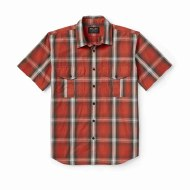 Filson's Washed Short Sleeve Feather Cloth Shirt