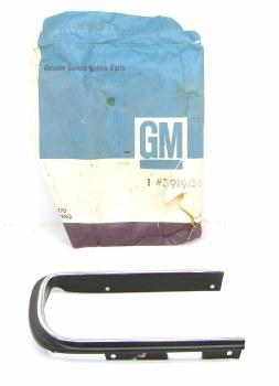 67 68 Camaro NOS RS Headlight Door Molding RH Original GM Part# 3919156