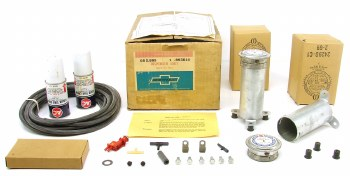 1969 Camaro Chevelle Chevy Full Size NOS Liquid Tire Chain Despensor Kit  GM# 993814