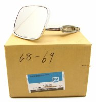 68 69 Camaro & Firebird NOS Door Mirror Assembly LH GM Part# 3914753