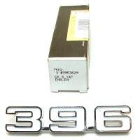1969 Camaro NOS 396 Front Fender Emblem Original GM Part# 3953629