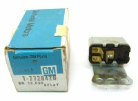 67 68 69 Camaro & Firebird NOS Power Window Relay Assembly Original GM# 7728426