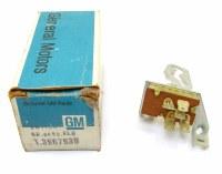 1969 Camaro NOS Heater Control Fan Speed Switch Original GM Part# 3967939