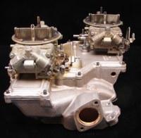 1967 1968 1969 Camaro Crossram Intake Manifold & Carbs GM Experimetal