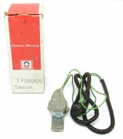 67 68 Camaro NOS Reverse Back Up Light Switch Assembly GM 1993420