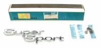 1967 Chevelle NOS Super Sport Rear Quarter Panel Emblem GM Part# 4229717