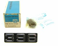 71 72 Camaro NOS 396 Front Fender Emblem GM Part# 3988829