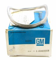1973 Chevelle NOS Turn Signal Lens Stainless Steel Ring GM Part# 5644915