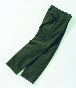 Laksen Moleskin Trousers Green