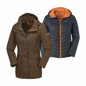 Blaser Hybrid 2 in 1 WP Jacket Ladies