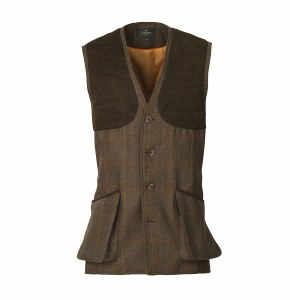 Laksen Grouse Tweed Vest