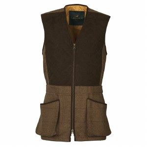 Laksen Firle Glenogil Tweed Shooting Vest