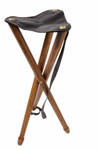 Decoy Leather Tripod Stool