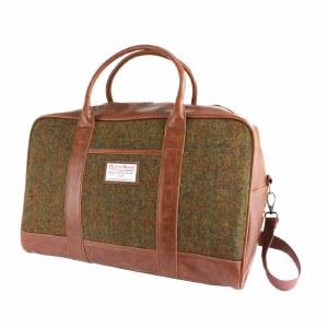 British Bag Company Harris Tweed Holdall