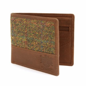 British Bag Company Stornoway HArris Tweed Wallet