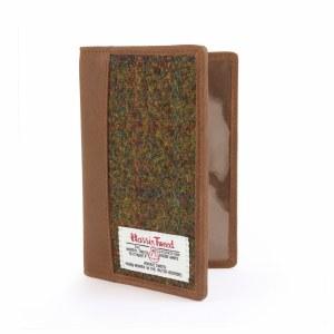 British Bag Company Stornoway HArris Tweed Passport Wallet