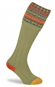 Pennine Fairisle Socks