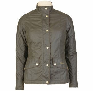 Barbour Brocklane Ladies Wax Riding Jacket