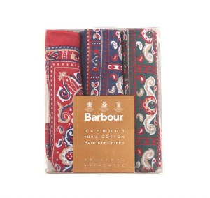 Barbour Paisley Hankerchief Box Set