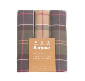 Barbour Tartan Hankie Set