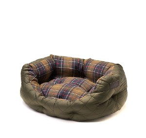 """Barbour Quilted Dog Bed 18"""""""