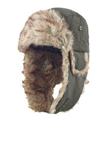 Musto Winter Fur Hat Moss