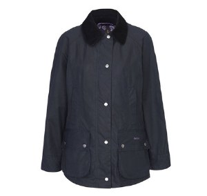 Barbour Womens Printed Beadnell Wax Jacket