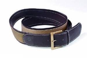 Laksen Canvas & Leather Belt