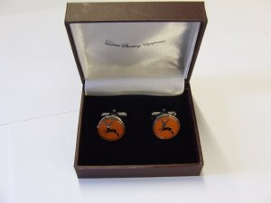 Laksen Deer Cufflinks Tile
