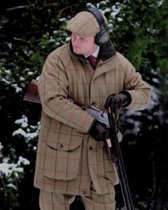 Laksen Glennan Tweed Shooting Coat