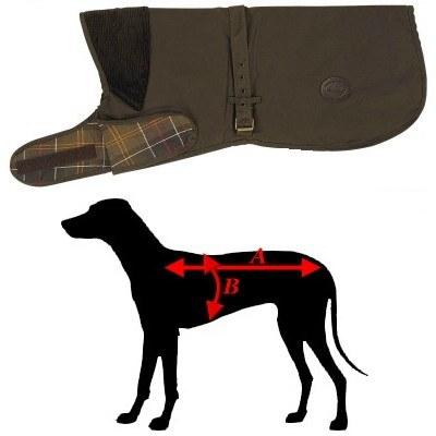 barbour dog coat xl