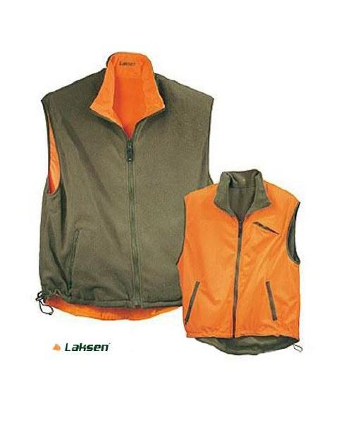 Laksen Reversible Fleece Hunting Waistcoat
