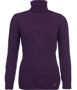 Barbour Lemington Roll Neck Ladies Jumper