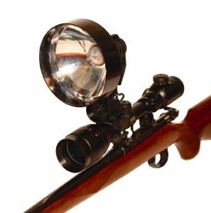 Night Eye Scope mounted Lamp