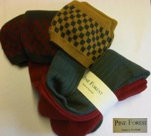 Pine Forest Bowmore Socks