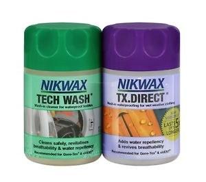 Nikwax TX Direct / Tech Wash Twin Pack