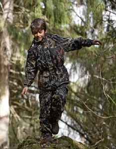 Seeland Kids Camo Suit 4 year