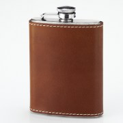 Laksen Leather Hip Flask