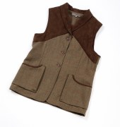 Laksen Teviot Ladies Tweed Vest