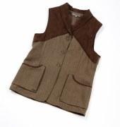 Laksen Teviot Ladies Tweed Vest