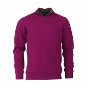 Laksen Grouse Zip Neck Jumper