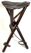 Napier Leather Tripod Stool