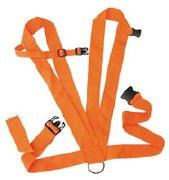 Allen Deer Drag Double Harness
