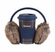 Barbour Carsten Faux Fur Ladies Earmuff & Mug Gift Set