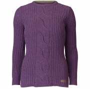 Barbour Lemington Crew Neck Ladies Jumper