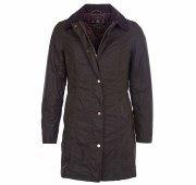 Barbour Ladies Waxed Belsay Wax Jacket Olive